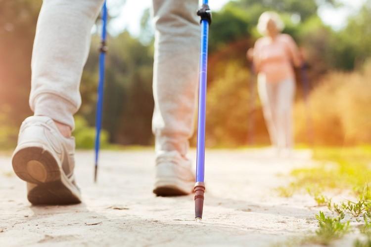 Nordic Walking - Abnehmen mit 2 Stöcken